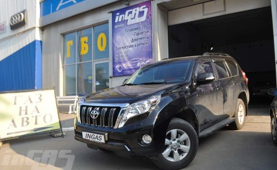 TOYOTA LAND CRUISER PRADO 2.7 2015 г. в.