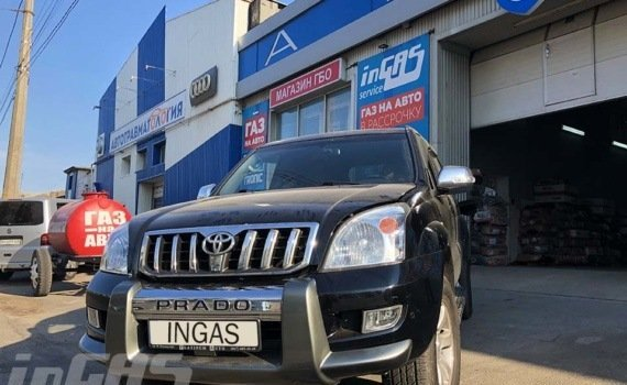 TOYOTA LAND CRUISER PRADO 4.0 2008 г. в.